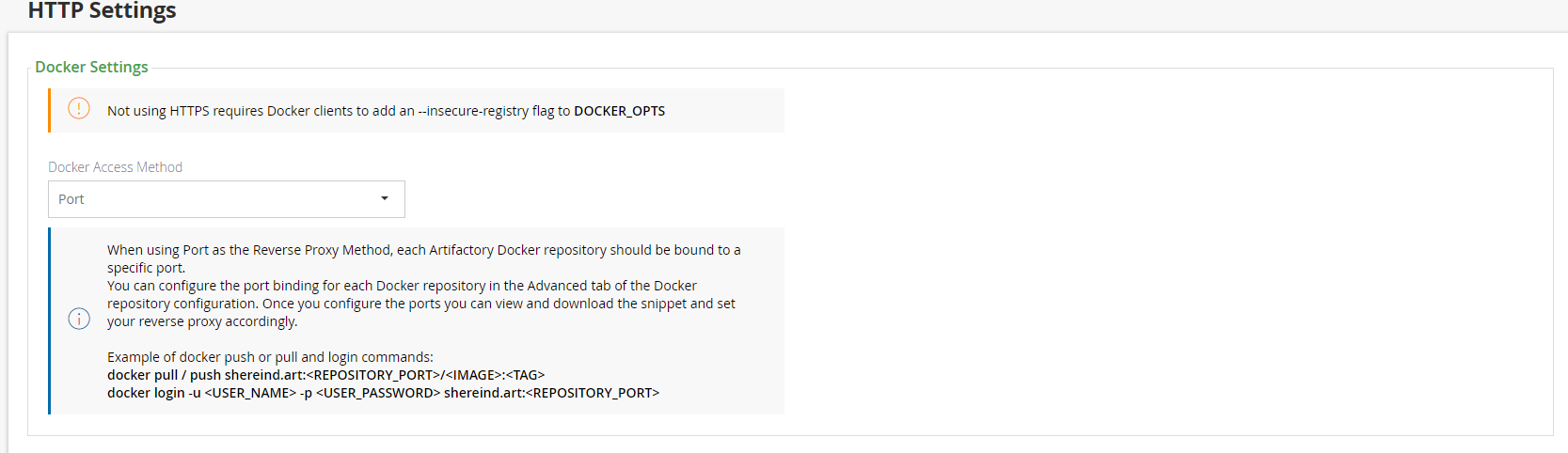 Cannot get docker repository