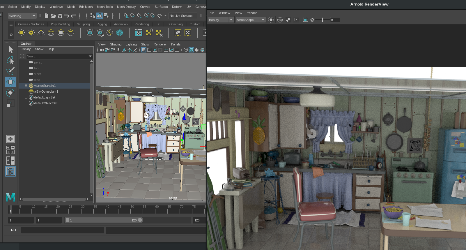 Can T Render Kitchen Data Set From Pixar Issue 4 Rodeofx