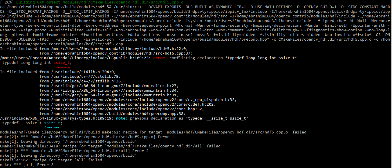 Installing opencv on WSL ubuntu 18 04 · Issue #3480