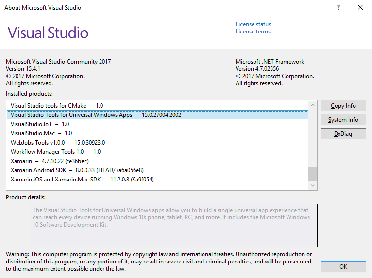 Build inside VS does not work · Issue #300 · microsoft