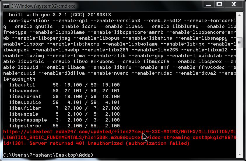 Download  ts video file by ffmpeg via  m3u8 · GitHub