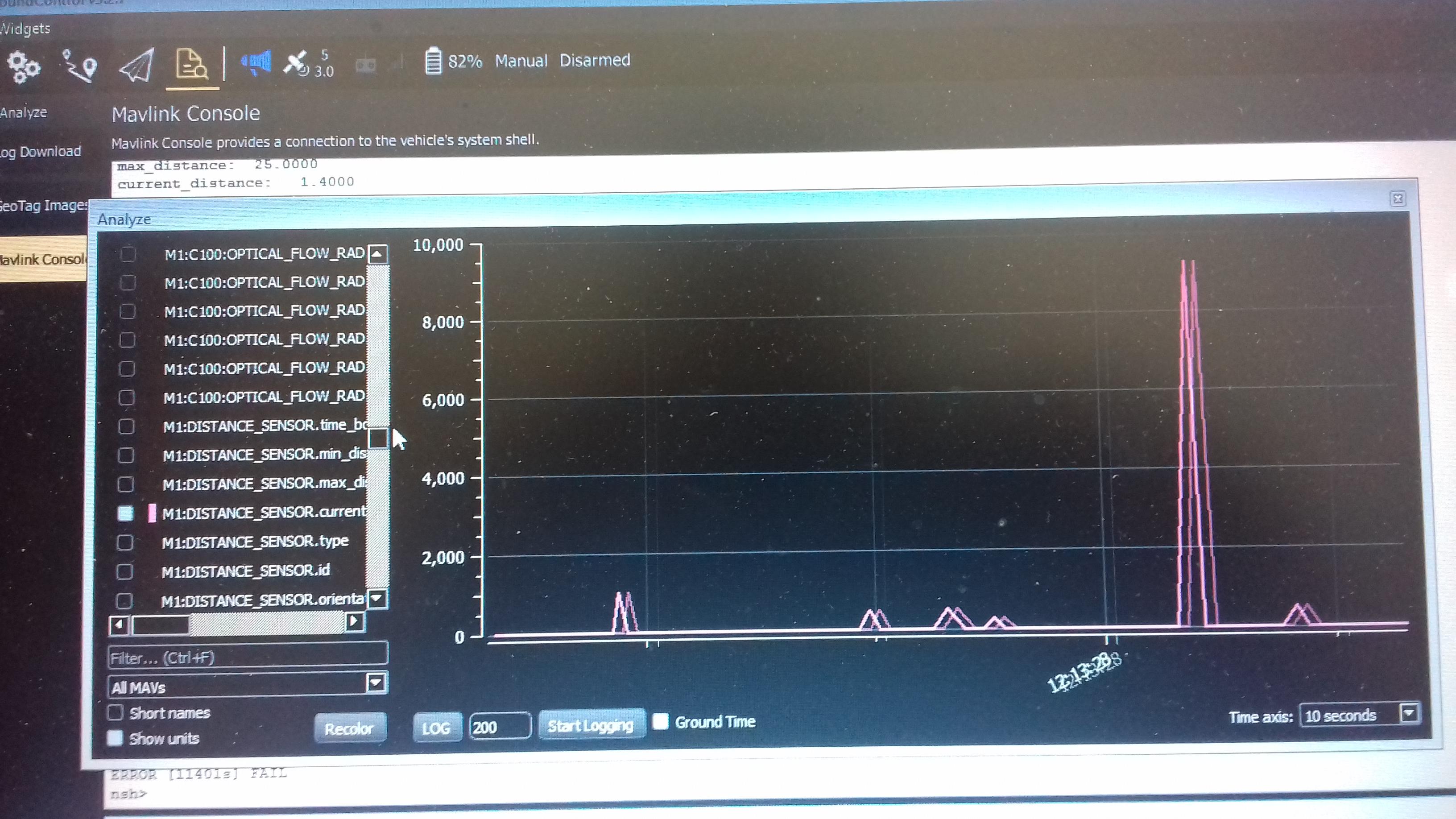 Optical flow not working · Issue #315 · intel-aero/meta