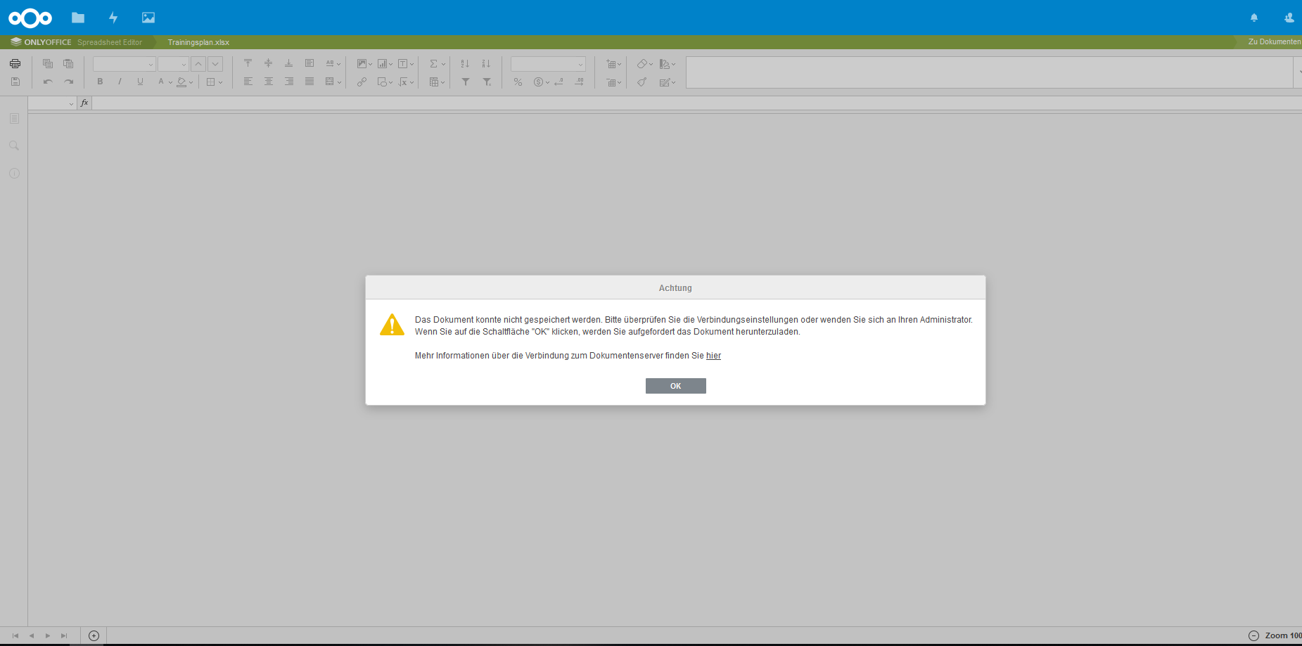 Cant Access Nextcloud Files The Files Could Not Be Saved