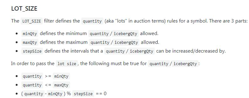 LOT_SIZE error · Issue #23 · jaggedsoft/node-binance-api