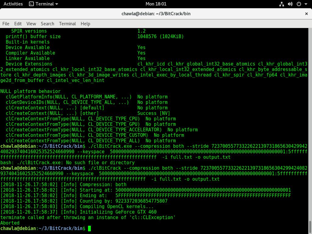 gtx 460 error · Issue #86 · brichard19/BitCrack · GitHub