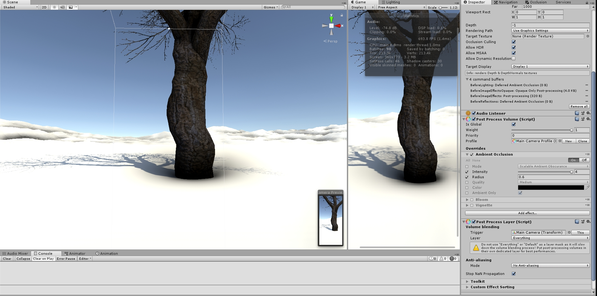 Speedtree shader with AO · Issue #650 · Unity-Technologies