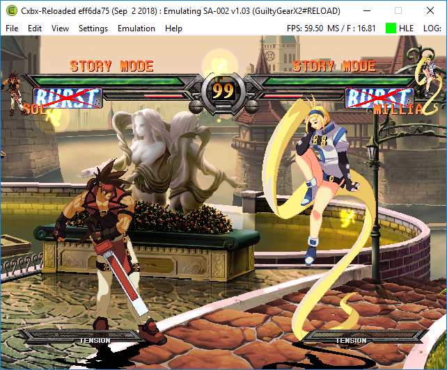 Guilty Gear X2 [SA-002] [v1 03] · Issue #855 · Cxbx-Reloaded