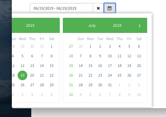 Date-disabled angular datepicker  Angular Material Form
