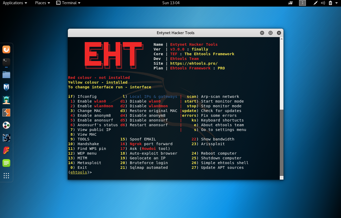 Ehtools RED