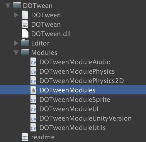 Make Unity module dependencies optional · Issue #227