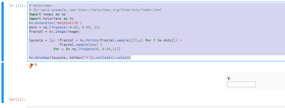 Developers - holoviews (fresh) jupyterlab extension problem -