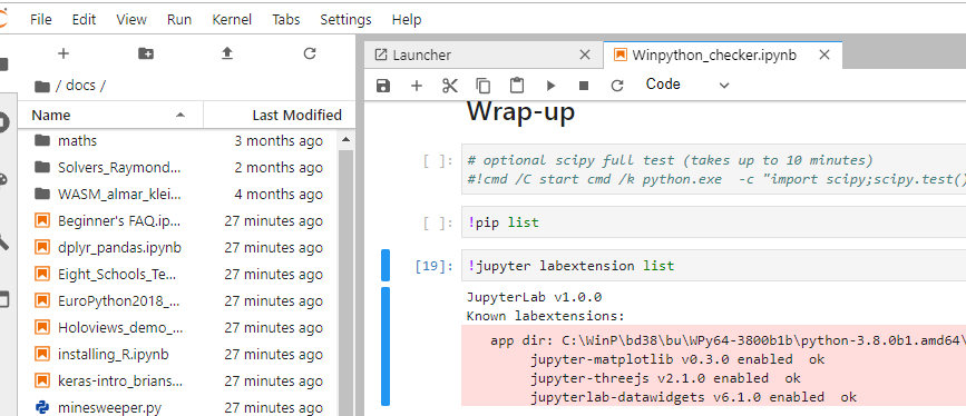 Check that lab works on Python 3 8 · Issue #6487