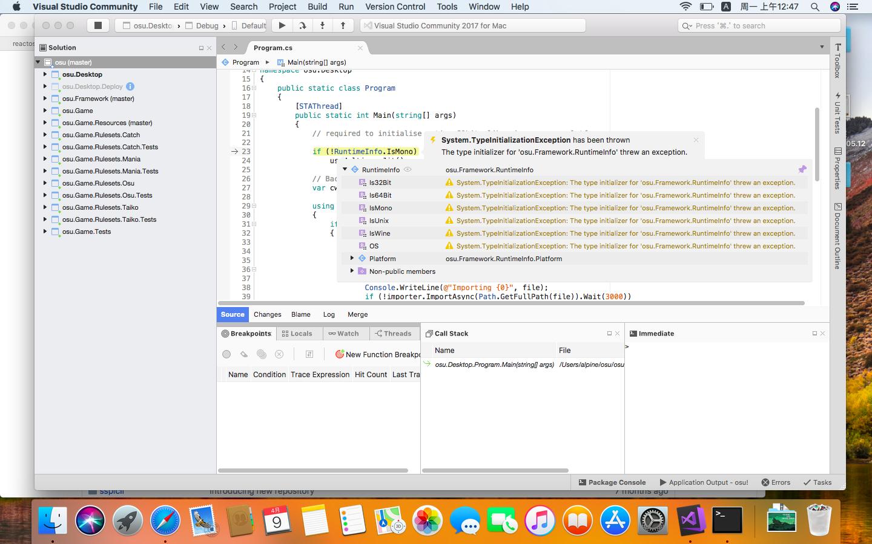 macOS] Crash on startup · Issue #2367 · ppy/osu · GitHub