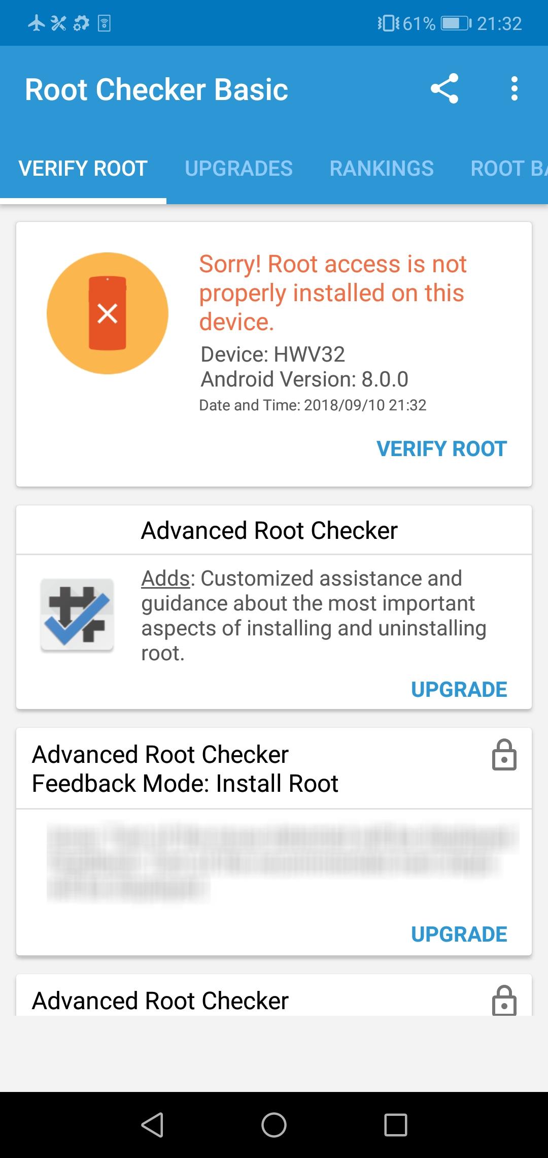 Error after installing