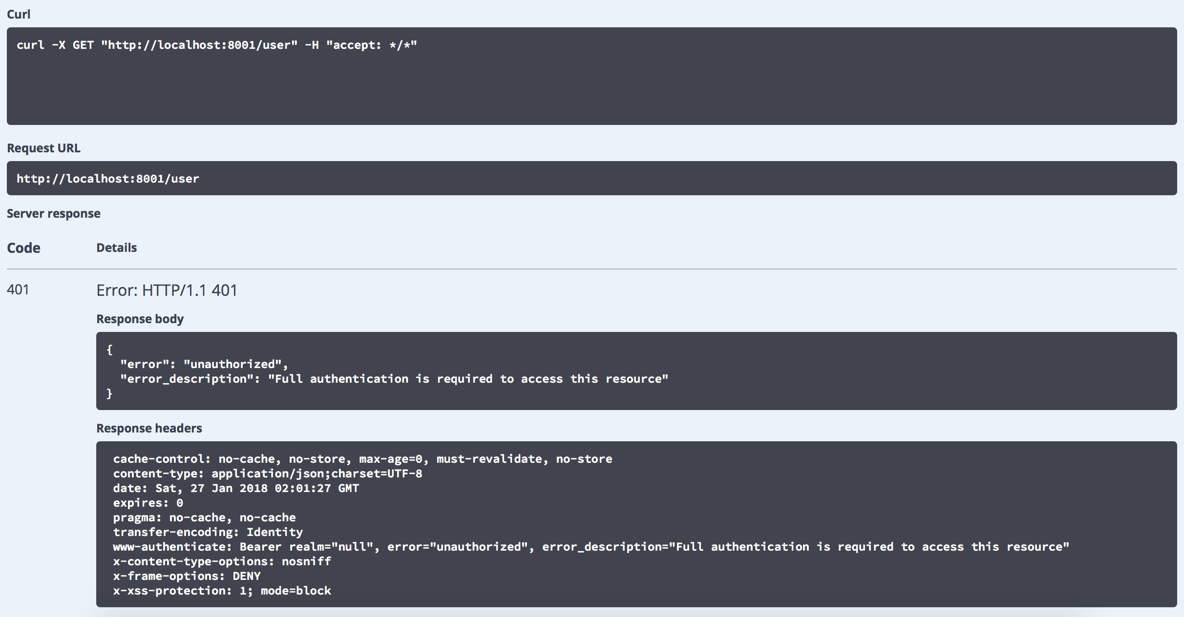 Api key input missing in swagger ui after upgrading version to 2 6 1