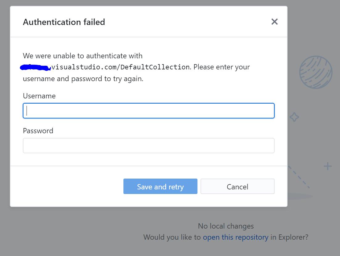 GitHubDesktop ask credentials · Issue #2655 · desktop