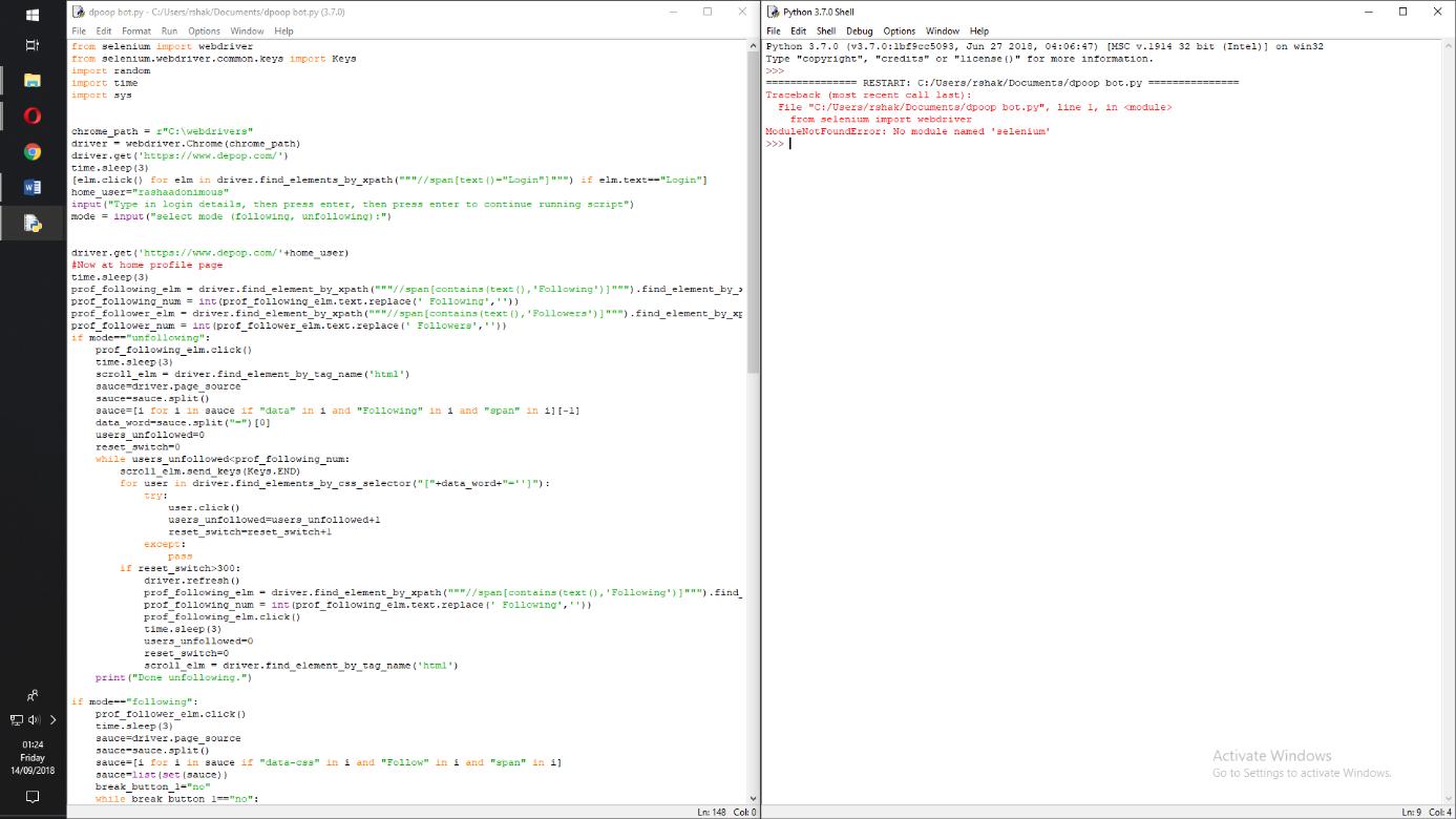 Press+ Enter+ Key+ In+ Selenium+ Python