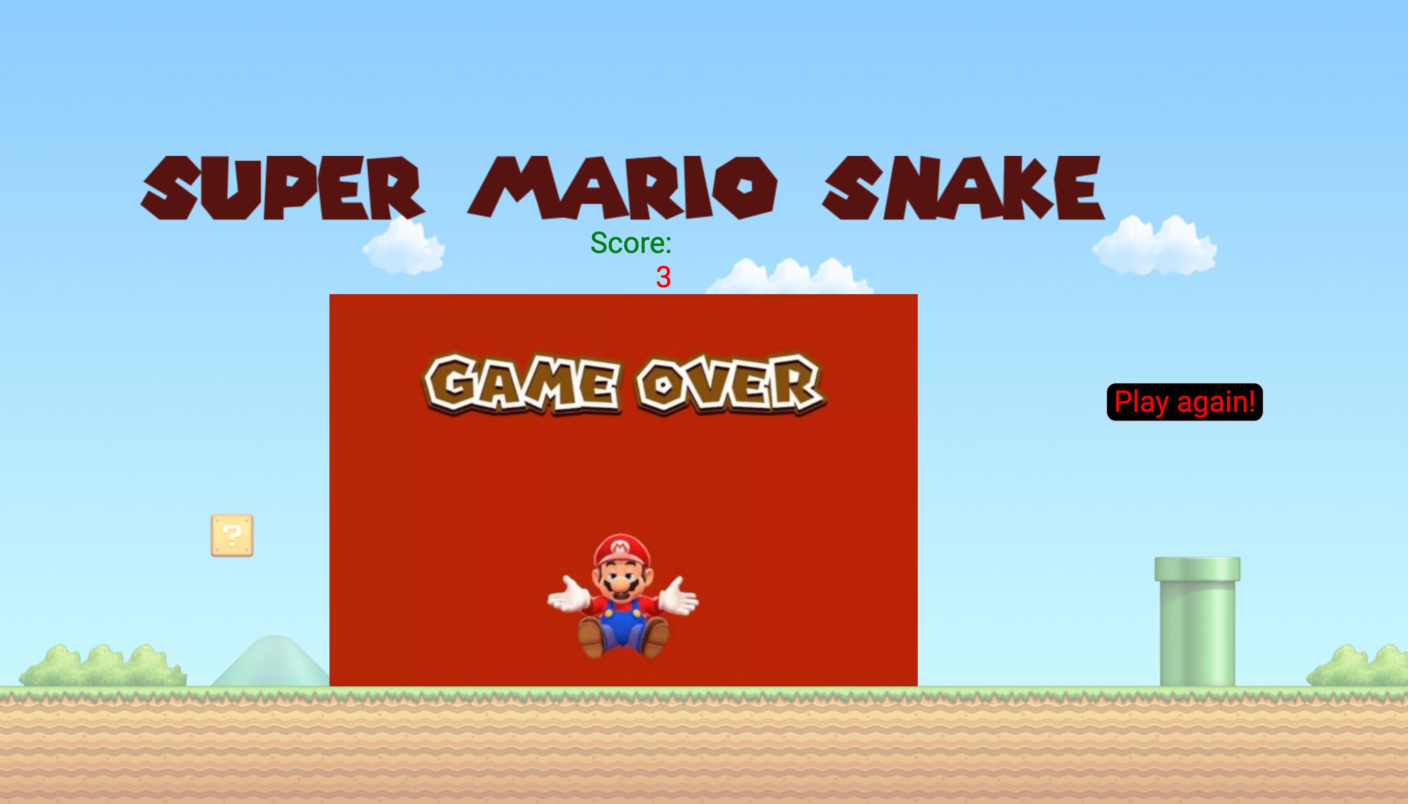 GitHub - arj8728/SEI-Project-01-Snake-Game: Vanilla