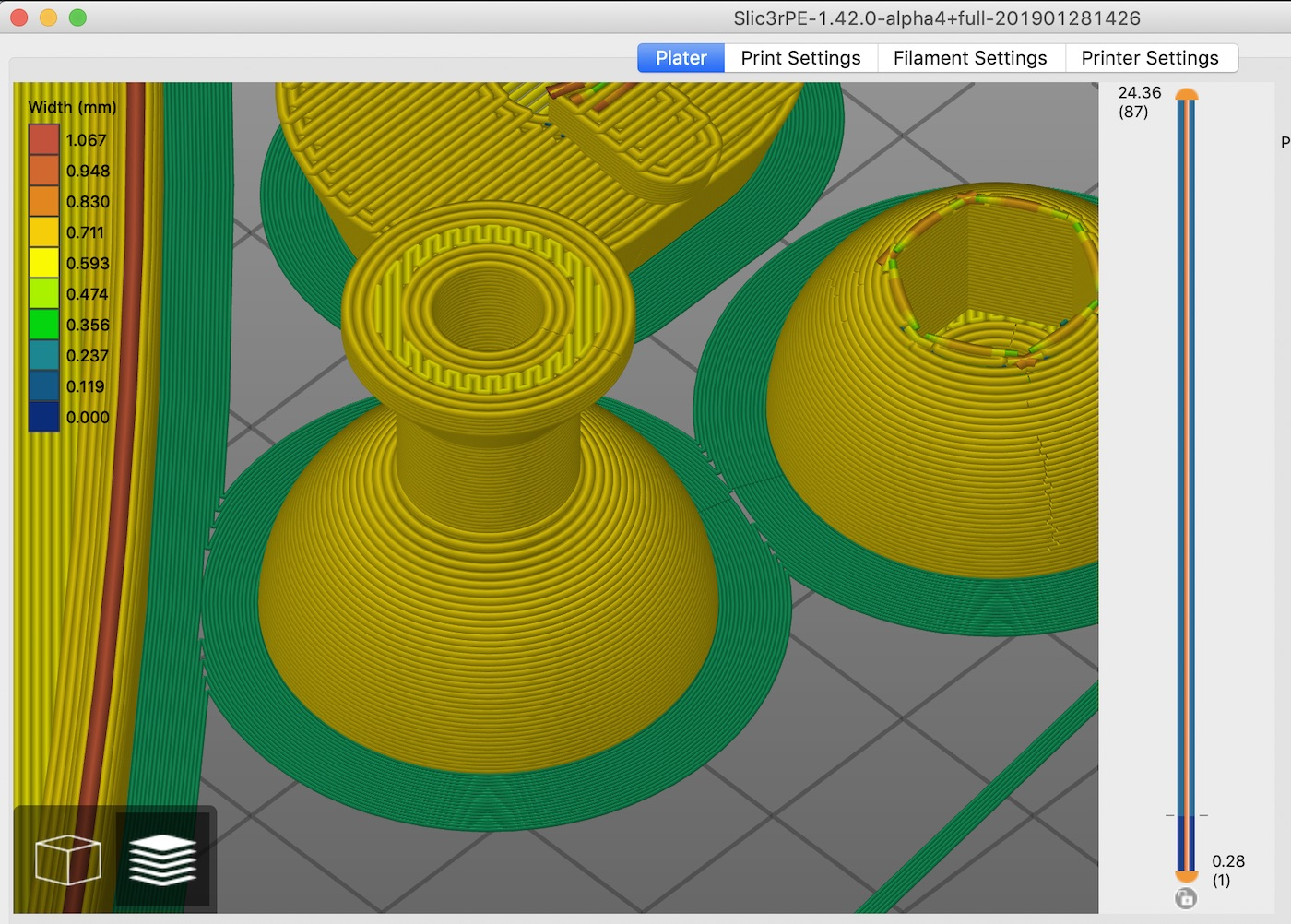 Super narrow Brim and Skirt paths · Issue #1752 · prusa3d