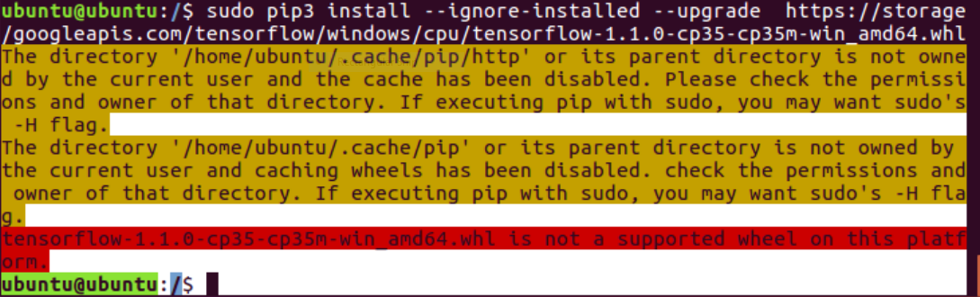 Unable to install TensorFlow on Python3 7 with pip · Issue #20444
