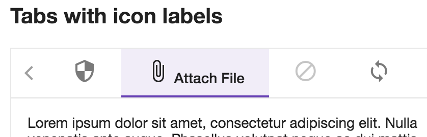 Tabs] Header with icon+text not vertically aligned · Issue #10141