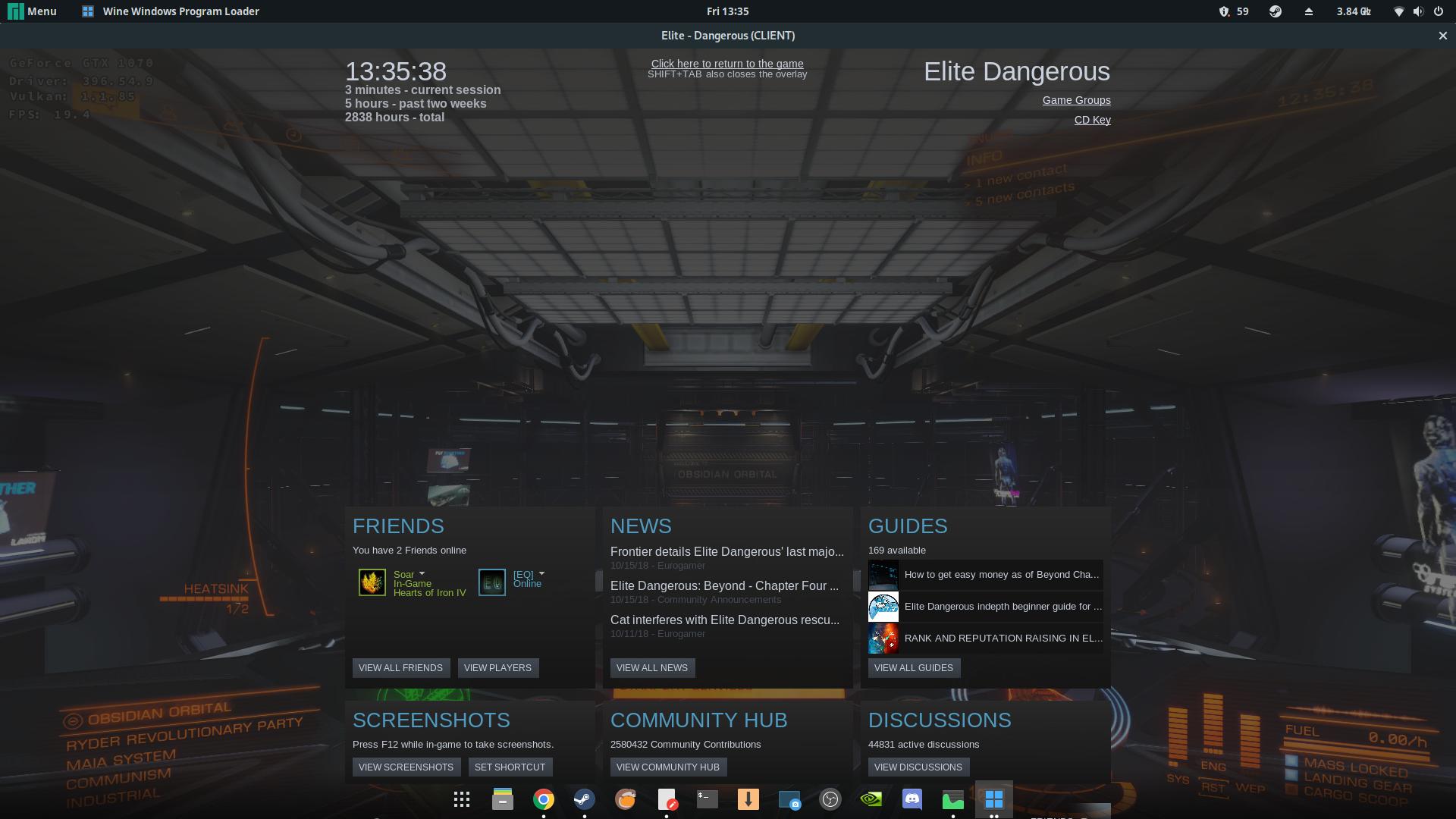 BUG] Elite Dangerous doesn't start (359320) · Issue #150