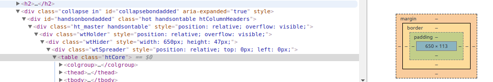 Twitter Bootstrap collapsible div height-related conflict with