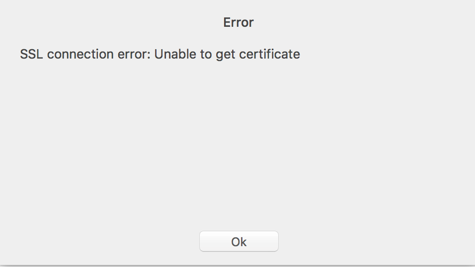 AWS Aurora SSL Over SSH Not Working · Issue #240 · TablePlus
