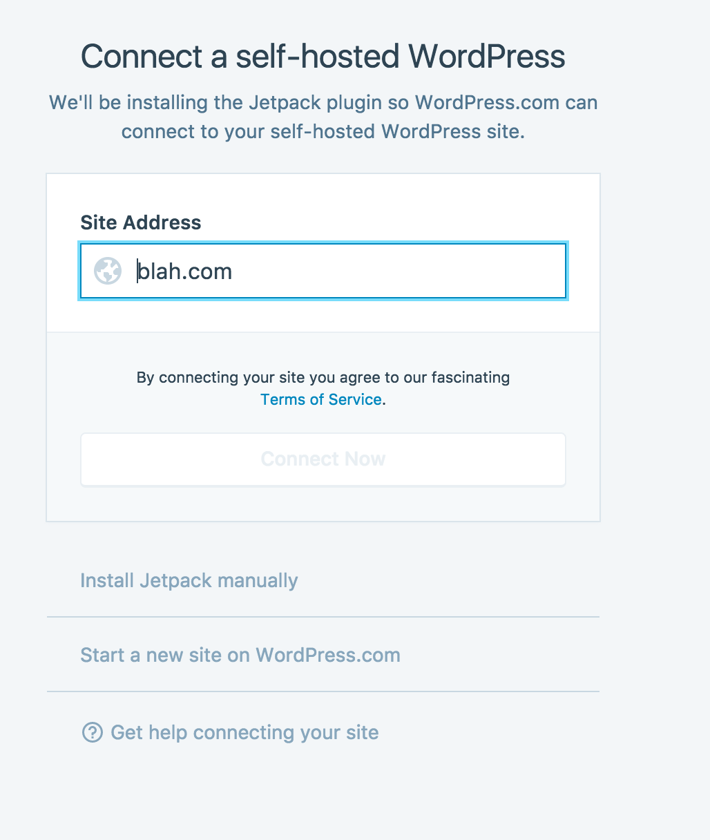 Jetpack Connect: Happychat prompt · Issue #17604 · Automattic/wp
