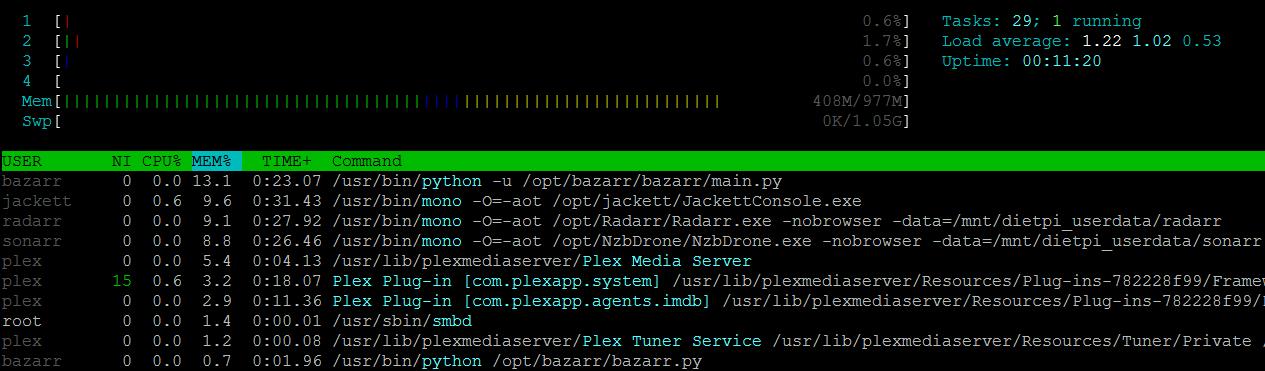 Cannot Access Radarr