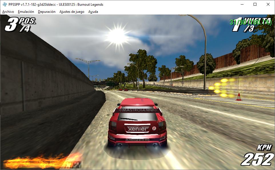 Burnout legends vulkan crash after loading screen · Issue #10436