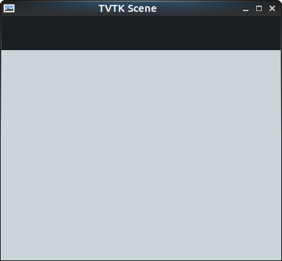 tvtk scene windows blank/unresponsive · Issue #532