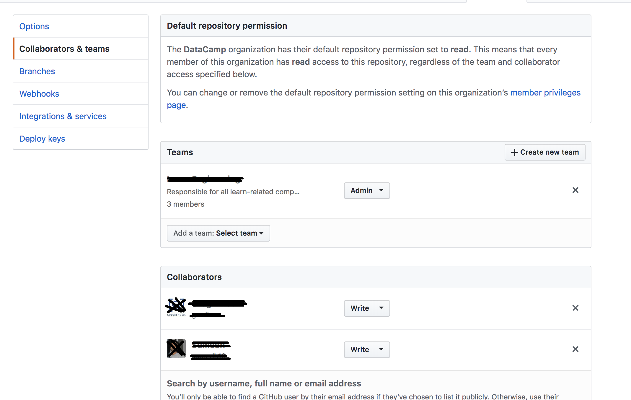 Personal Token:Must have admin rights to repository · Issue