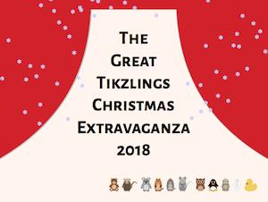 The great TikZlings Christmas Extravaganza 2018