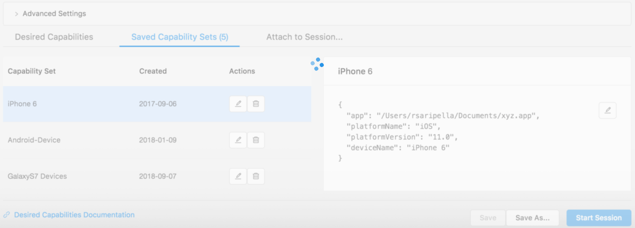 Appium Desktop does not start a session · Issue #653