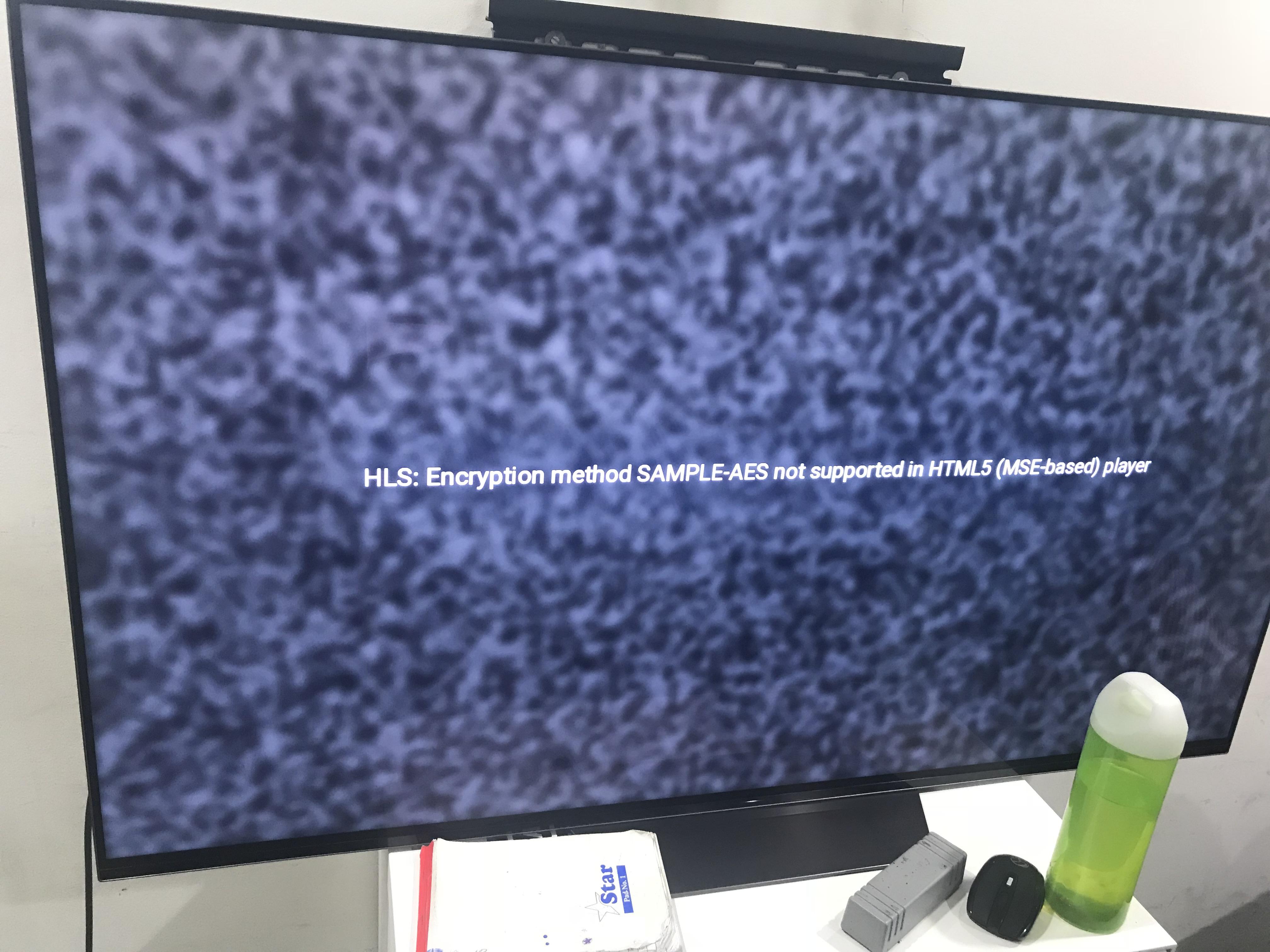 DRM content not casting on TV · Issue #11 · bitmovin/bitmovin-player