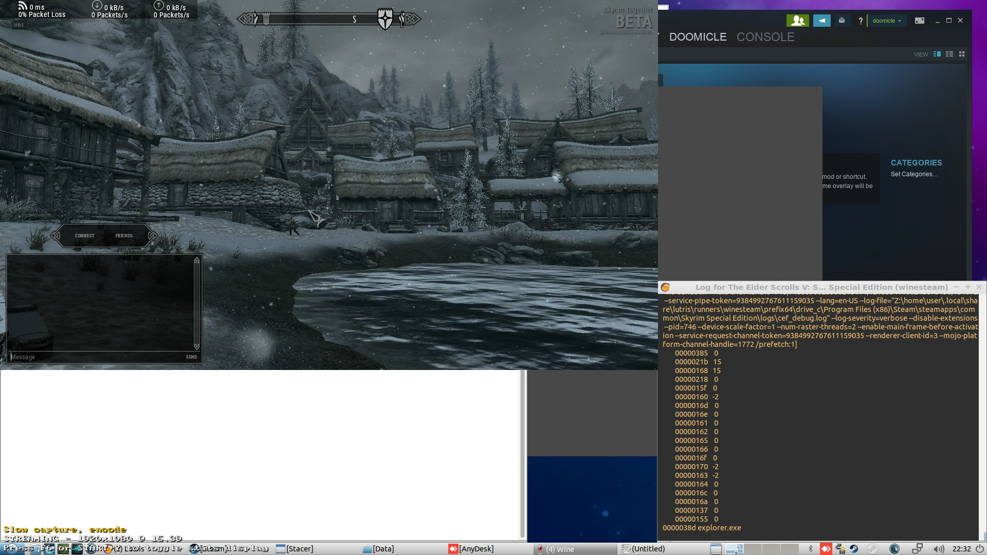 Linux compatability? · Issue #6 · SkyrimTogether/issues