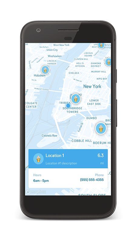android-store-locator-blue-theme