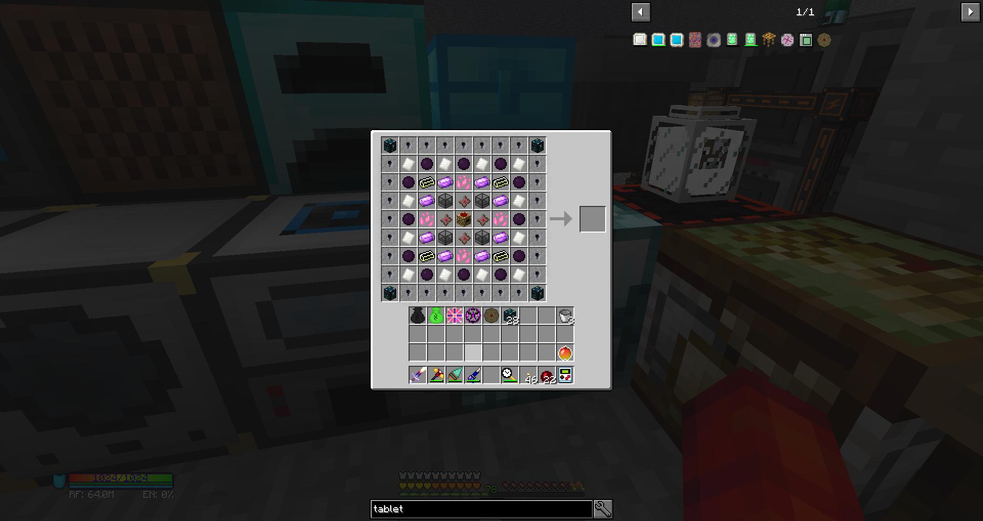 Unable to craft Transmutation Table in Stoneblock : feedthebeast
