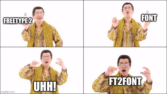 FT2Font Naming
