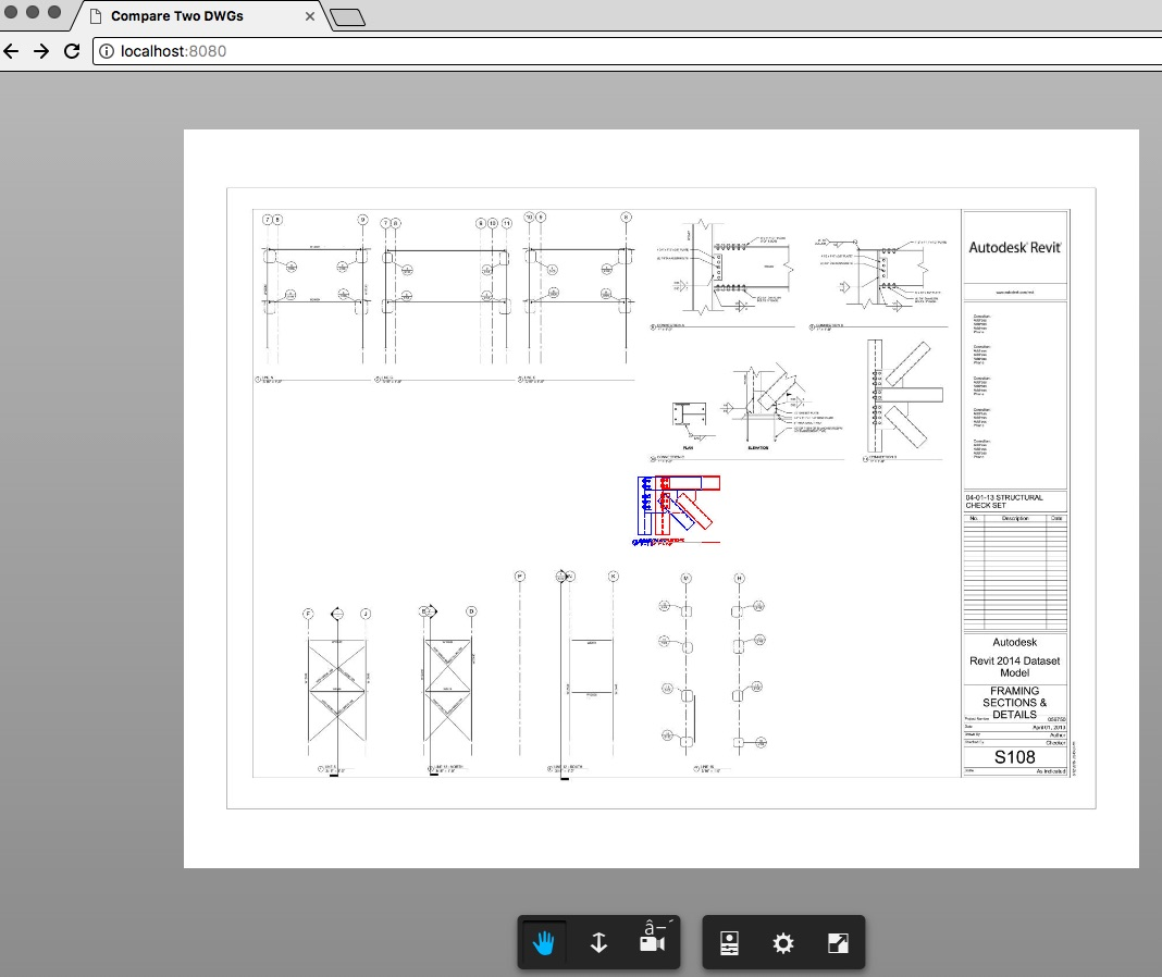 Compare two 2D documents using Forge Viewer | Autodesk Forge