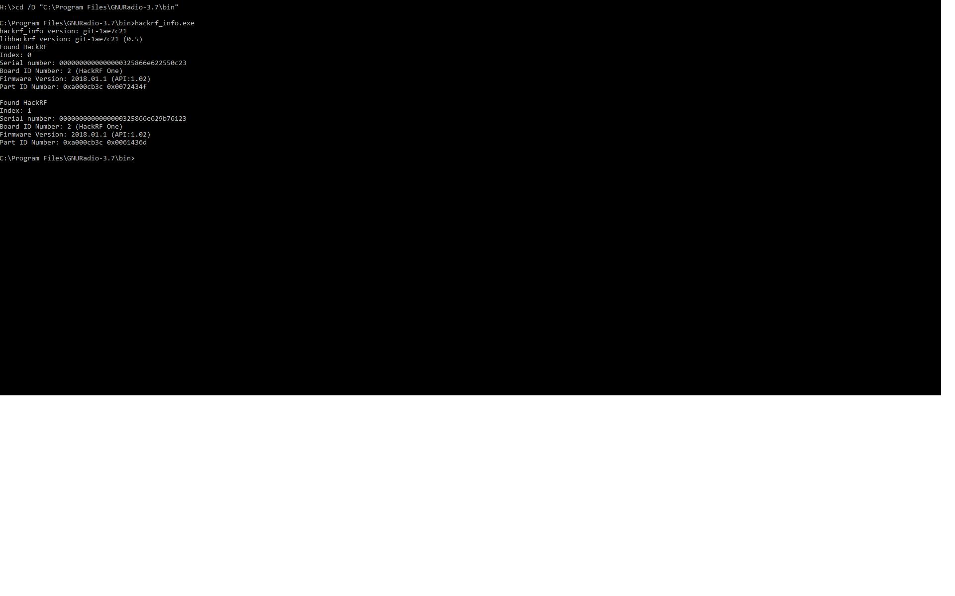 TX problem · Issue #537 · mossmann/hackrf · GitHub
