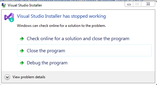error: Microsoft Visual C++ 14 0 is required  Get it with