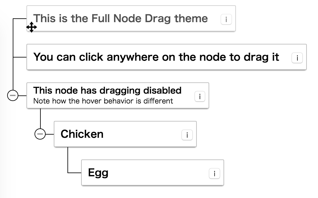 Full Node Drag Theme