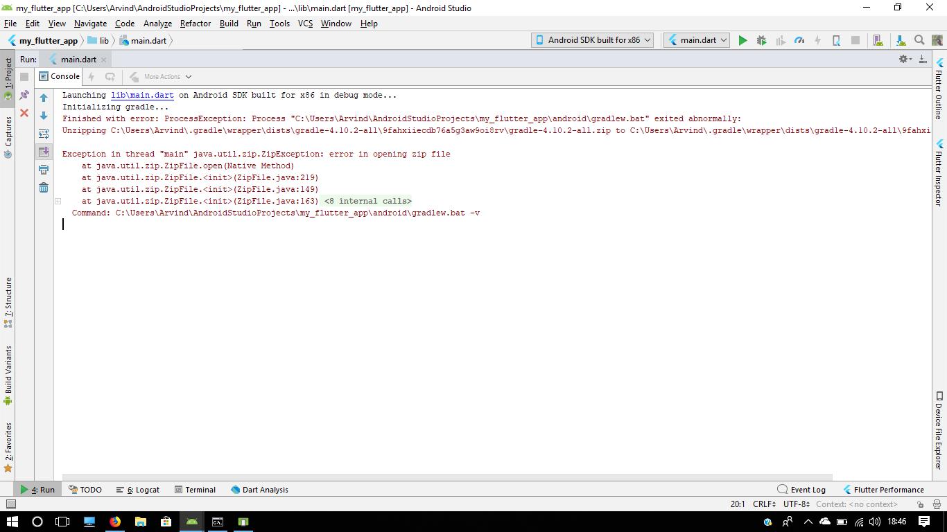 java util zip ZipException: error in opening zip file