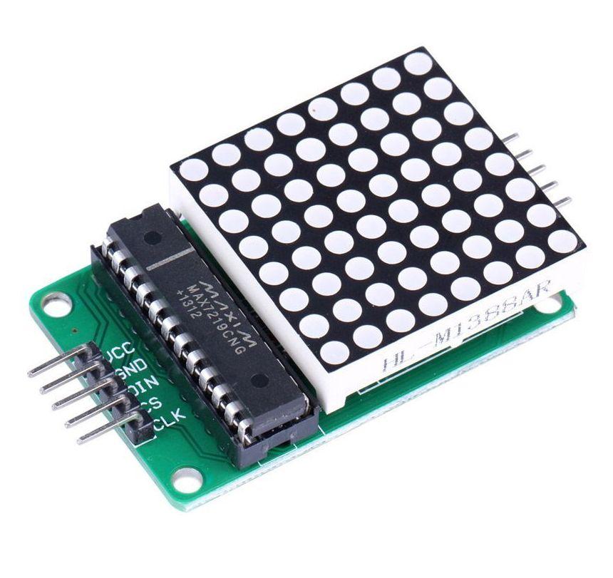 led-matrix-display-8x8-dots-rood-max7219-bovenkant