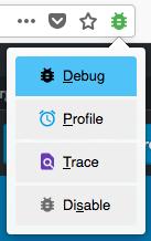 Enable Xdebug helper in Firefox