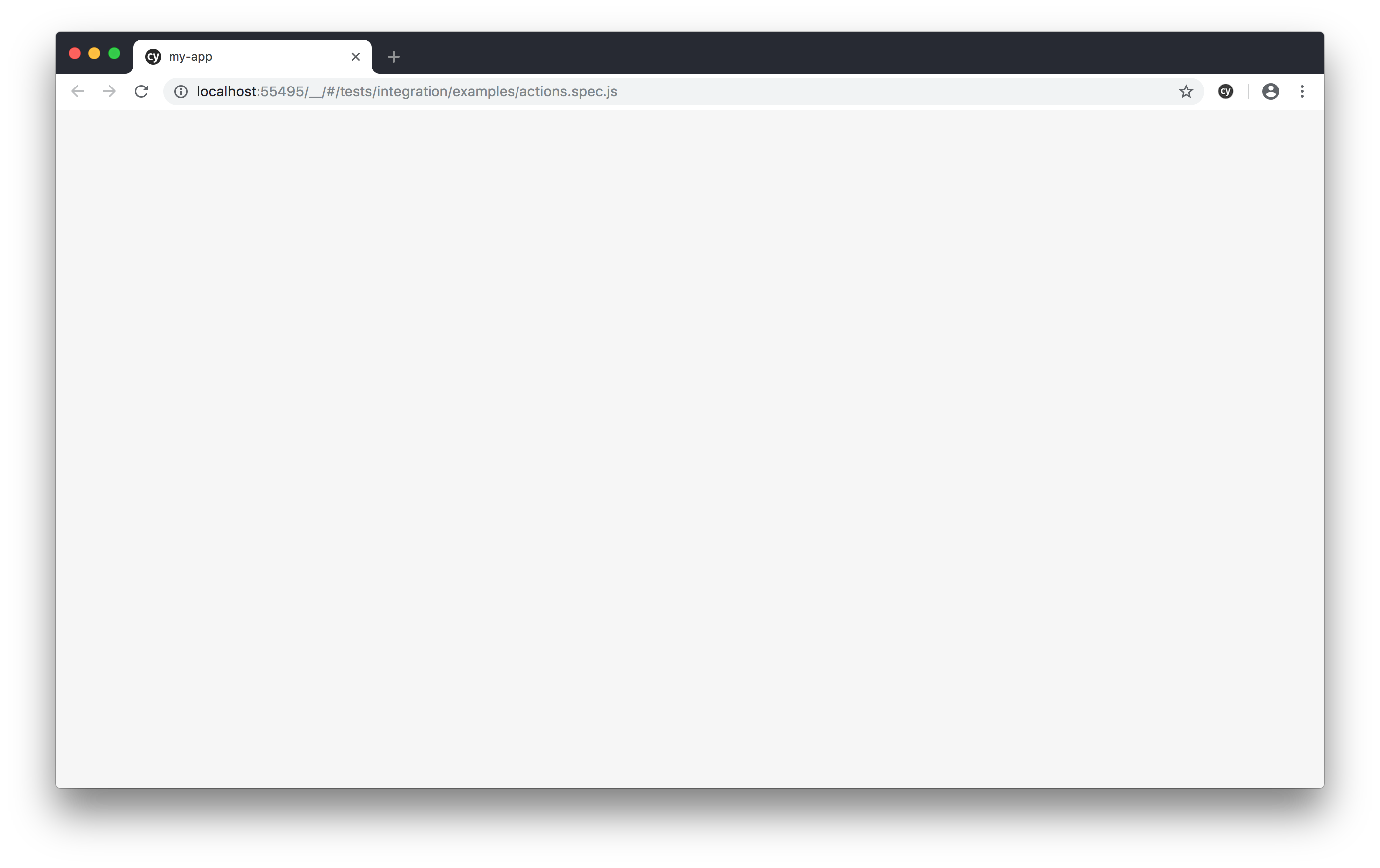 White Screen When Opening App