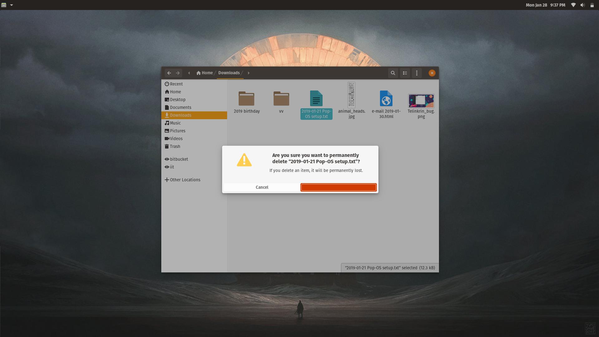 Desktop right-click menu has become completely transparent