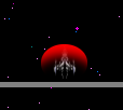 Player Ship Charging Laser